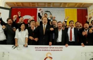 Galatasaray'da yönetim kurulu görev bölümü...
