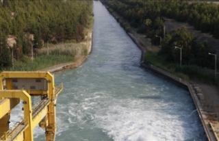 Irak'ın su ve barajlar konusundaki uzman heyeti,...