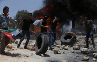 İsrail güçlerinden Nablus'ta Filistinlilere müdahale:...