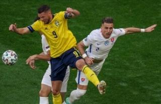İsveç, Slovakya'yı penaltıdan bulduğu golle...