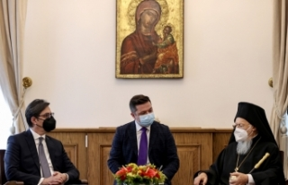 Kuzey Makedonya Cumhurbaşkanı Pendarovski'den...