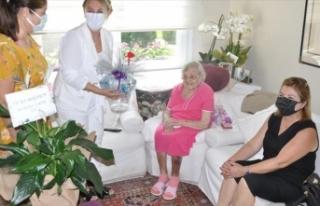 Mersin'de 108 yaşına giren Sümerolog Muazzez...