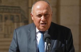 Mısır Dışişleri Bakanı Şukri: Mısır, Katar...