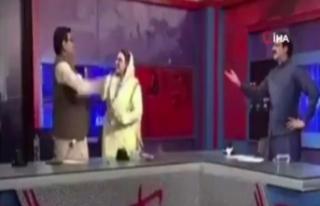 Pakistanlı eski bakandan milletvekiline canlı yayında...