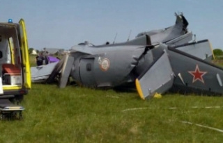 Rusya'da uçak düştü: 9 ölü, 15 yaralı