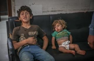 Rusya'ya ait savaş uçaklarının İdlib'e...