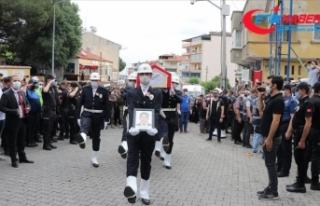Şehit polis memuru Ercan Yangöz son yolculuğuna...
