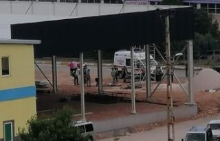 Tokat'ta 3 işçi elektrik akımına kapıldı