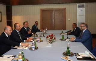 Türk üst düzey heyeti, Libya Başkanlık Konseyi...