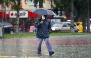 Meteorolojiden bazı iller için kuvvetli sağanak...