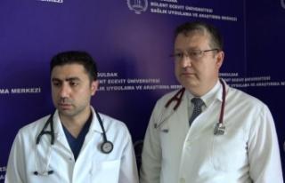 ZBEÜ'lü doktorlardan kalp hastalarında başarı...
