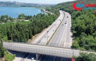 Anadolu Otoyolu'nda Kurban Bayramı dönüşü...
