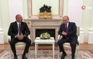Azerbaycan Cumhurbaşkanı Aliyev, Rusya Devlet Başkanı...