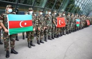 Azerbaycanlı ekipler, orman yangınlarıyla mücadeleye...
