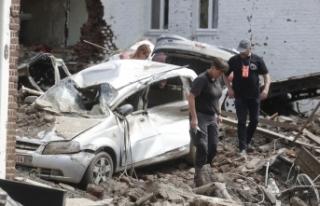Belçika'daki sel felaketinde can kaybı 37'ye...
