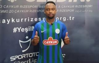 Çaykur Rizespor Lebogang Phiri ile 3 yıllık sözleşme...
