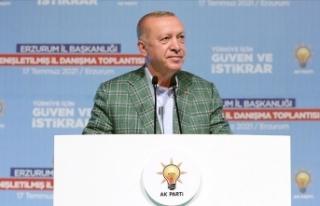 Cumhurbaşkanı Erdoğan: 2023'le ilgili siyasi...