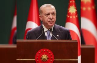 Cumhurbaşkanı Erdoğan: Kıbrıs Türk Devletinin...