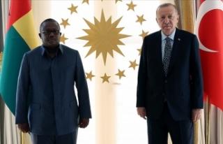 Cumhurbaşkanı Erdoğan, Gine Bissau Cumhurbaşkanı...