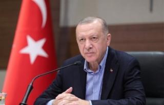 Cumhurbaşkanı Erdoğan: 'Yangından etkilenen...