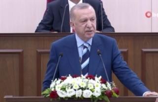 Cumhurbaşkanı Erdoğan'dan KKTC'ye Cumhurbaşkanlığı...