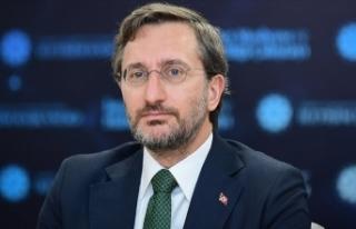 Cumhurbaşkanlığı İletişim Başkanı Altun, AB...