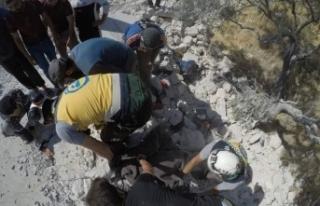 Esad rejiminden İdlib'e topçu saldırısı: 4...