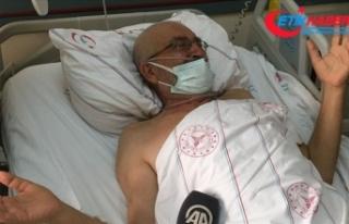 Hastanede tedavileri süren yaralılar Manavgat'taki...