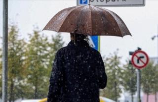Kars ve Ardahan'da gök gürültülü sağanak...