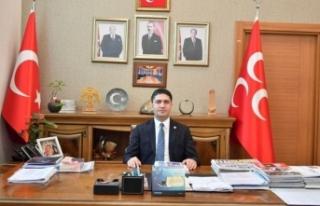 MHP'li Özdemir: Cumhuriyet gazetesinin maskesi...