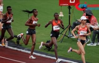 Milli atlet Yasemin Can, kadınlar 5000 metrede finale...