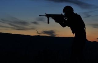 MSB: Fırat Kalkanı Harekatı bölgesinde iki asker...