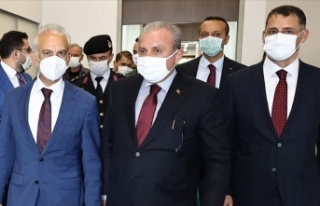 TBMM Başkanı Mustafa Şentop Azerbaycan'a gitti