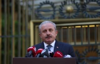"""TBMM Başkanı Şentop'tan """"Erzurum Kongresi'nin..."""