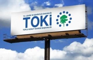 TOKİ, Şanlıurfa'da 54 konut ile 32 iş yerini...