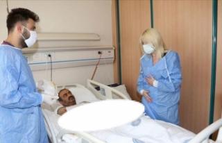 Türkiye'de çift kol nakli yapılan 5. hasta...