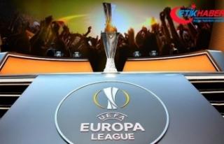 UEFA Avrupa Ligi play-off turunda İstanbul derbisi...