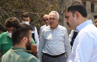 Çevre ve Şehircilik Bakanı Kurum: Manavgat'ta...