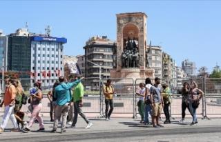 İstanbul son 16 ayın en fazla turistini haziranda...