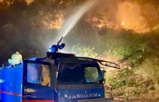 Jandarma Genel Komutanlığı, 4 ildeki orman yangınlarına...