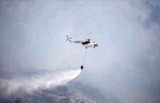 Mersin'deki orman yangını kontrol altına alındı