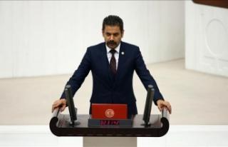 MHP'li Kalyoncu: Yanan alanlar yeşillenecek fakat...