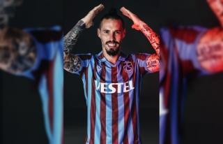 Trabzonsporlu futbolcu Hamsik'in adalesinde ödem...