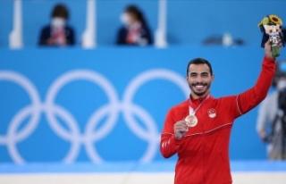 Türk cimnastiği tarihindeki ilk olimpiyat madalyasını...