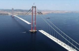 '1915 Çanakkale Köprüsü'nde 67 tabliyenin...