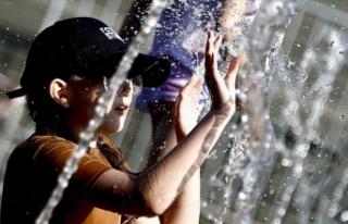 50 dereceye ulaşan aşırı sıcak günlerin sayısı...