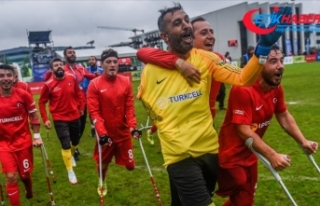 Ampute Futbol Milli Takımı, Avrupa Şampiyonası'nda...