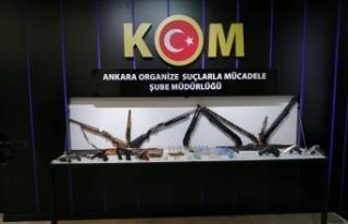 Ankara Emniyeti'nden iki suç çetesine operasyon:...