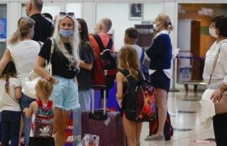 Antalya'ya hava yoluyla gelen turist sayısı...