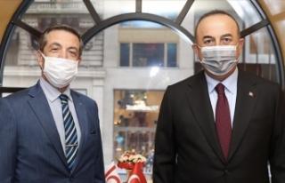 Bakan Çavuşoğlu: Kıbrıs Türk halkının egemen...
